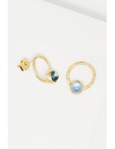 Bracelet Oriana Moonstone orné de Améthyste