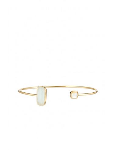 Bracelet Dorine Moonstone orné de Amazonite & Nacre