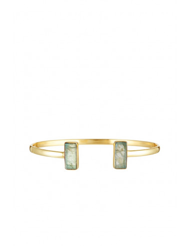 Bracelet Evita Moonstone orné de Labradorite