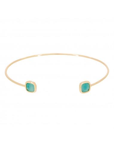 """Bracelet """"Rosy"""" Amazonite verte"""