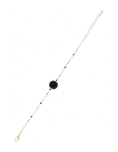 "Bracelet ""Clio"" Obsidian"